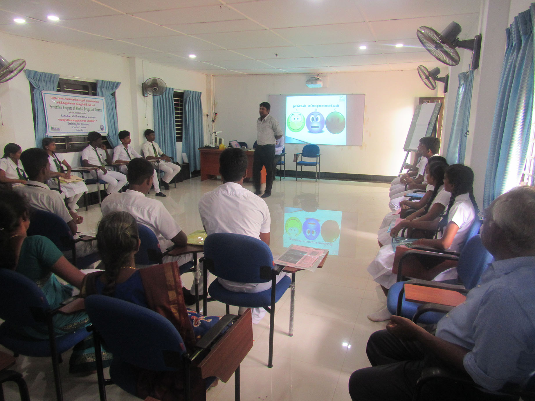 ADAT Training for school children in Jaffna