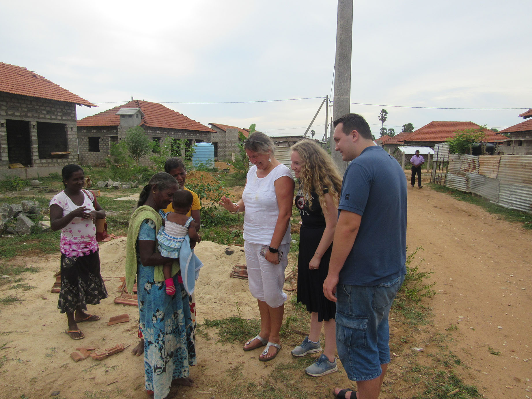 Brotherhood shared between VGS team, Norway and returnees in Jaffna