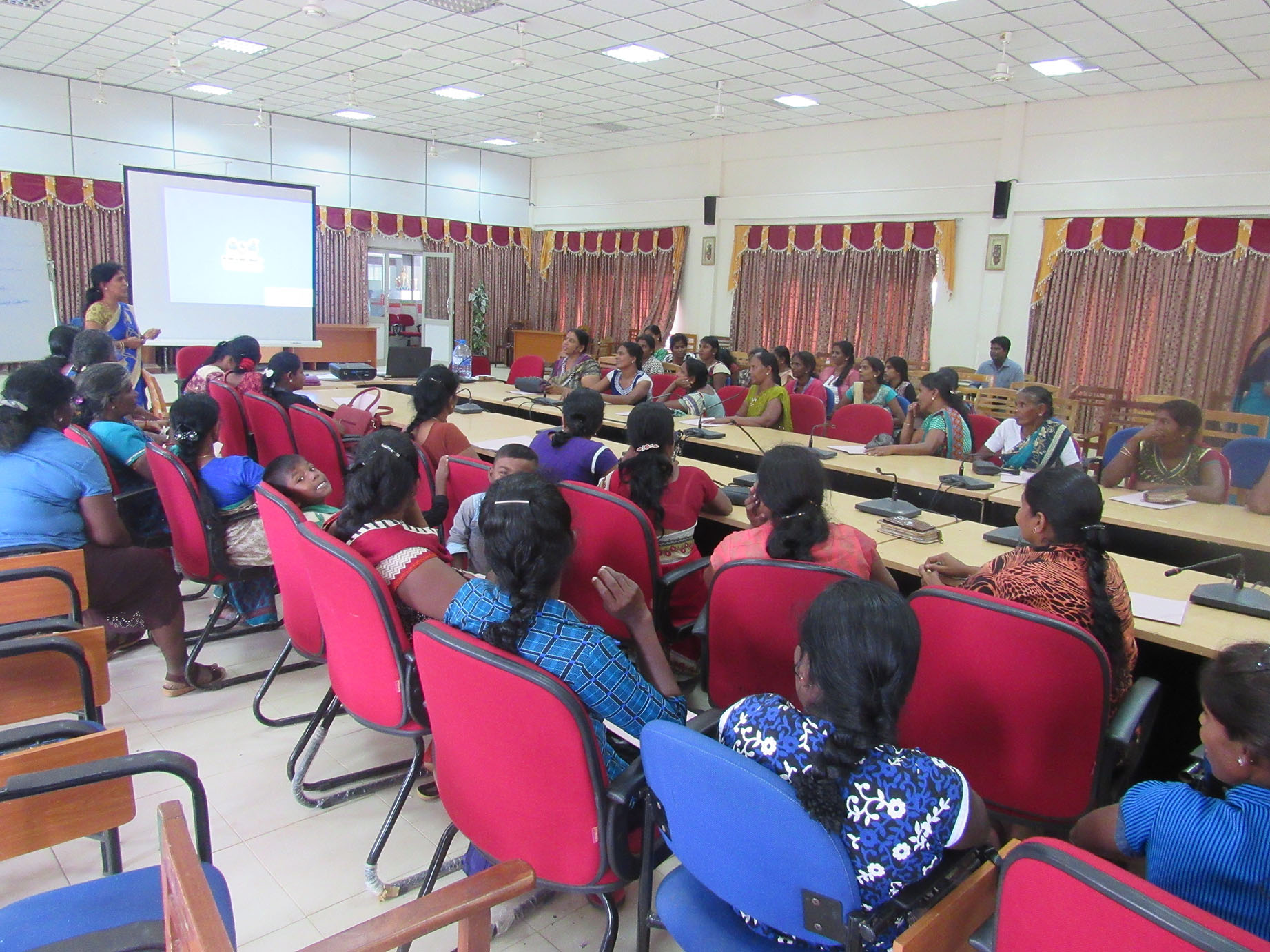 Training attended by leaders of Women\'s Societies in Mullaithivu