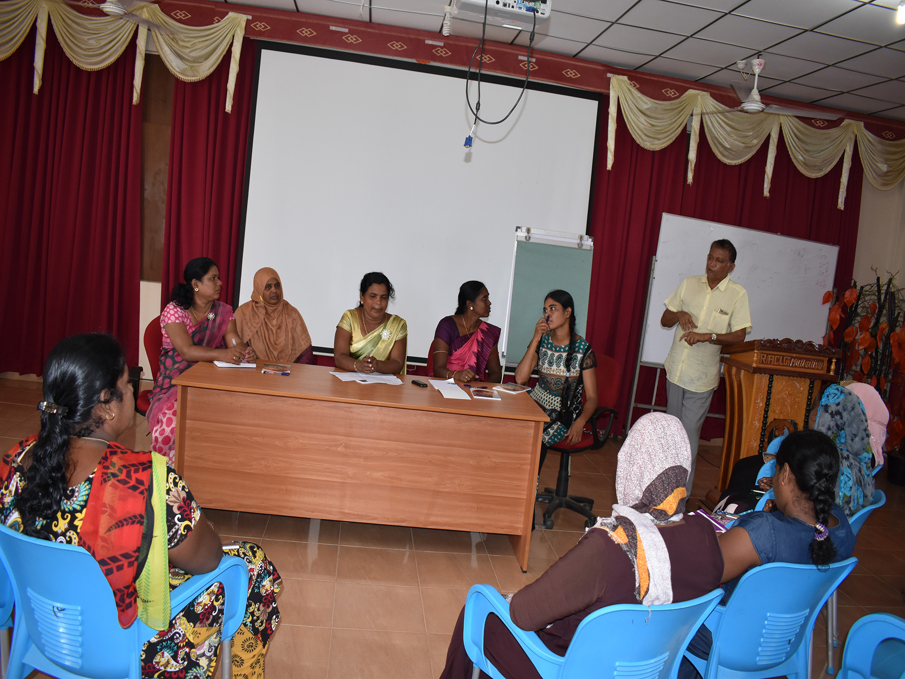 Mullaitivu Women's Cooperative Society (MWDCS), conducted a progress review
